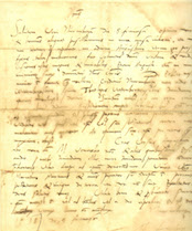 Martin Luther letter